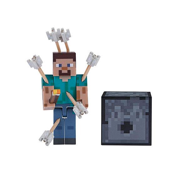 Купить Minecraft 19971 Майнкрафт фигурка Steve with Arrows, Минифигурка Minecraft