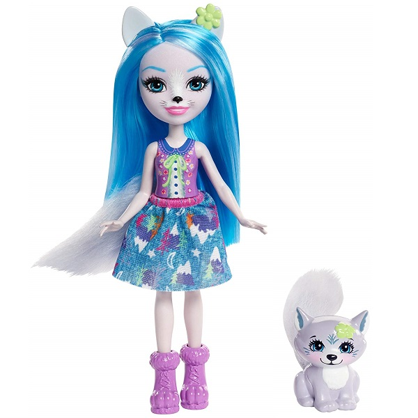 Mattel Enchantimals FRH40 Кукла с питомцем  Волчица Винсли, арт:155337 - Enchantimals, Куклы и аксессуары