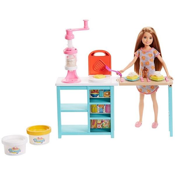 Mattel Barbie FRH74 Барби Завтрак со Стейси - Куклы и аксессуары