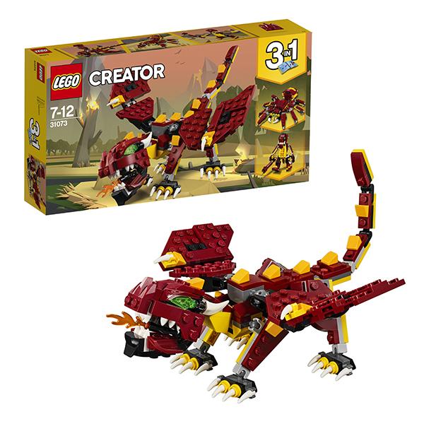 Купить Lego Creator 31073 Лего Криэйтор Мифические существа, Конструкторы LEGO