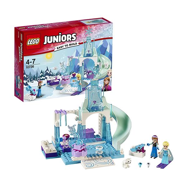 Lego Juniors 10736 Конструктор Лего Джуниорс Игровая площадка Эльзы и Анны, арт:145740 - Джуниорс, Конструкторы LEGO