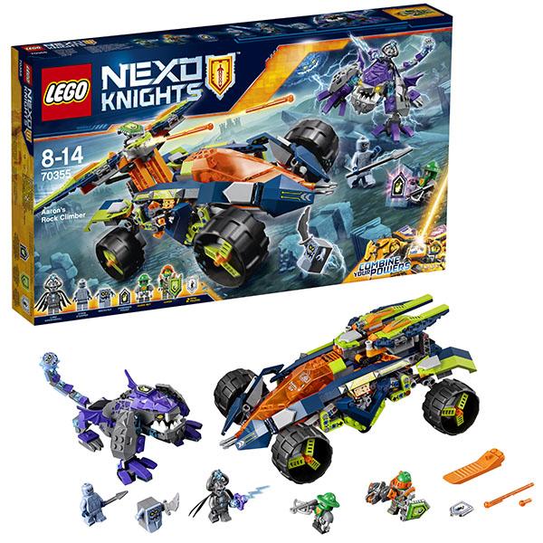 Lego Nexo Knights 70355 Конструктор Лего Нексо Вездеход Аарона 4x4, арт:148588 - LEGO, Конструкторы для мальчиков и девочек
