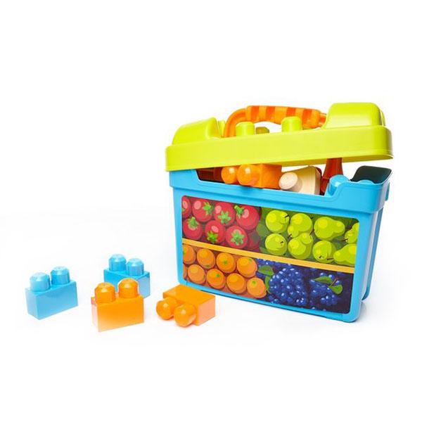 Купить Mattel Mega Bloks DPJ54 Мега Блокс Игровой набор Обед с собой , Развивающие игрушки для малышей Mattel Mega Bloks