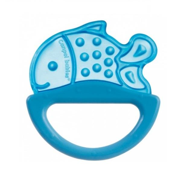 Купить Canpol babies 250930499 Погремушка с эластичным прорезывателем, 0+, цвет: голубой, форма: рыбка, Погремушка Canpol babies