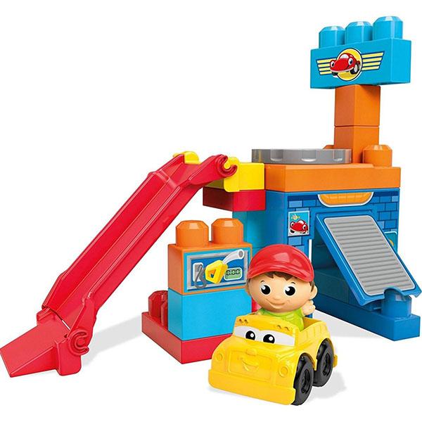 Mattel Mega Bloks DKX85 Мега Блокс Игровой набор  конструктор Веселые качели