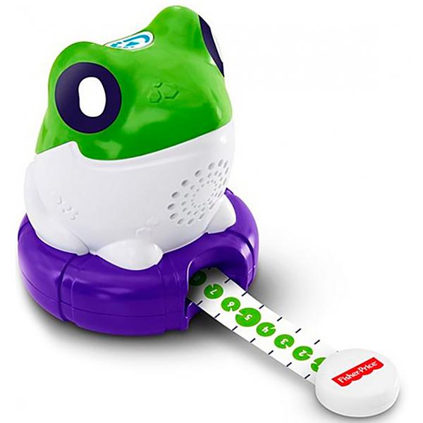 Купить Mattel Fisher-Price FLR18 Фишер Прайс Лягушка Измеряем и сравниваем, Развивающие игрушки для малышей Mattel Fisher-Price