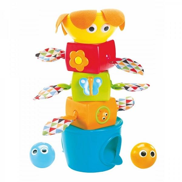Развивающие игрушки для малышей Yookidoo 40112 Пирамидка развивающая музыкальная с шариками фото