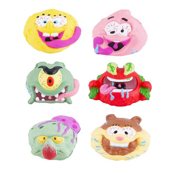 Купить SpongeBob EU690100 Мяч-антистресс 5 см (в ассортименте), Игровые наборы и фигурки для детей SpongeBob