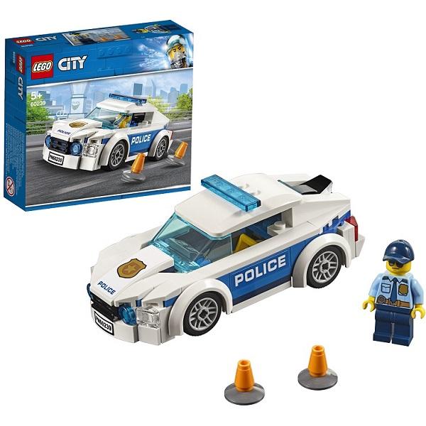 Купить Lego City 60239 Конструктор Лего Город Автомобиль полицейского патруля, Конструкторы LEGO