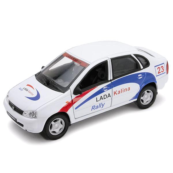 Купить Welly 42383RY Велли Модель машины 1:34-39 LADA Kalina Rally, Машинка Welly