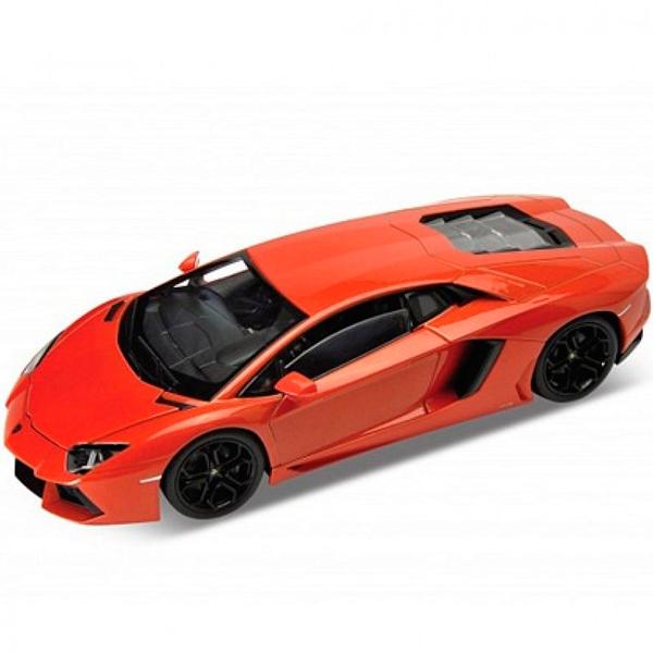 Купить Welly 24033 Велли Модель машины 1:24 Lamborghini Aventador, Машинка Welly