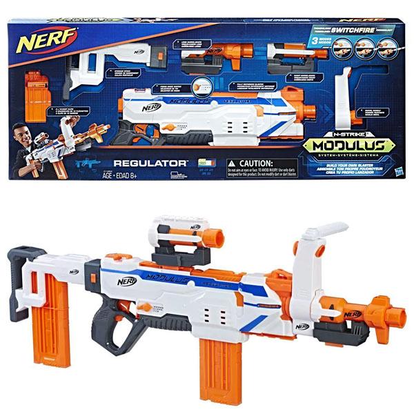 Купить Hasbro Nerf C1294 Нёрф Модулус Регулятор (бластер), Игрушечное оружие Hasbro Nerf