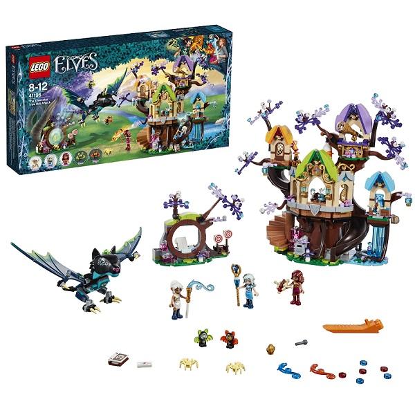 Lego Elves 41196 Конструктор Лего Эльфы Нападение летучих мышей на Дерево эльфийских звёзд, арт:154191 - Эльфы, Конструкторы LEGO