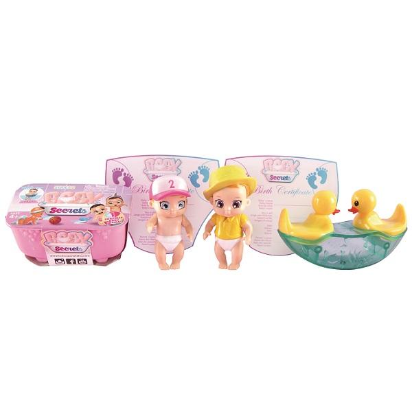 Zapf Creation Baby Secrets 930-359 Бэби Секрет Набор с качелями-балансиром, арт:155677 - Мини наборы, Игровые наборы