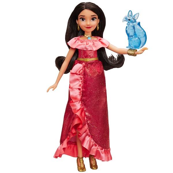 Hasbro Disney Princess E0108 Кукла Елена Принцесса Авалора и Зузо
