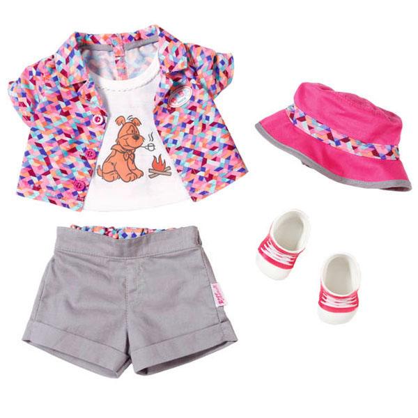 Одежда для куклы Zapf Creation - Одежда и аксессуары для кукол, артикул:146213