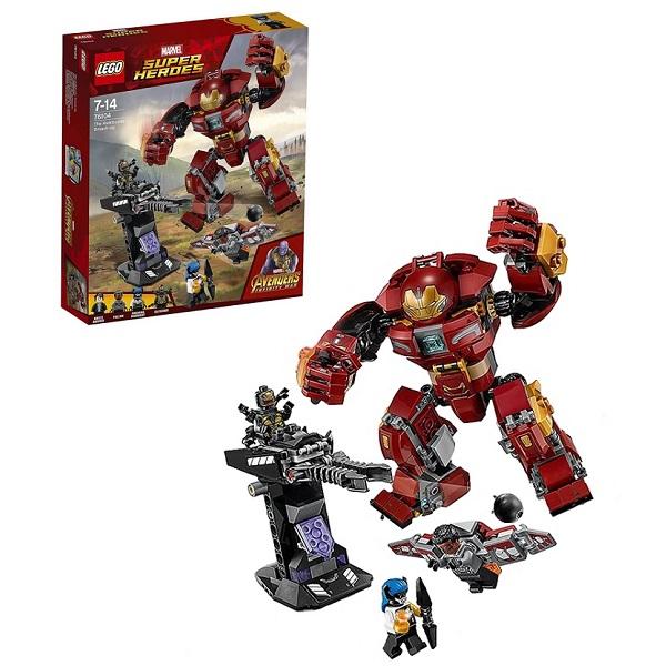 Купить LEGO Super Heroes 76104 Конструктор ЛЕГО Супер Герои Бой Халкбастера, Конструкторы LEGO
