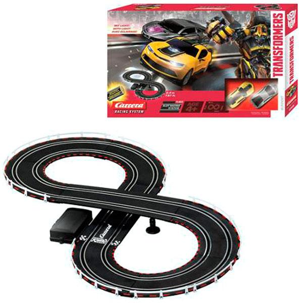 Купить Carrera 63000 Автотрек Трансформеры на р/у с 2-мя машинками, Игровой набор Carrera