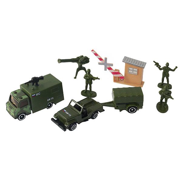 Машинки и техника ТМ Wincars — Wincars 30815B Набор военной техники