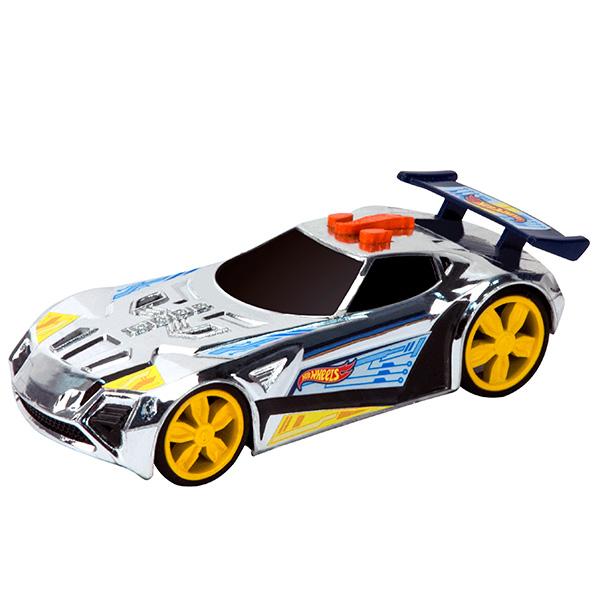 Купить Hot Wheels HW90601 Машинка Хот вилс на батарейках свет+звук, спойлер синий 13, 5 см, Машинка Toy State