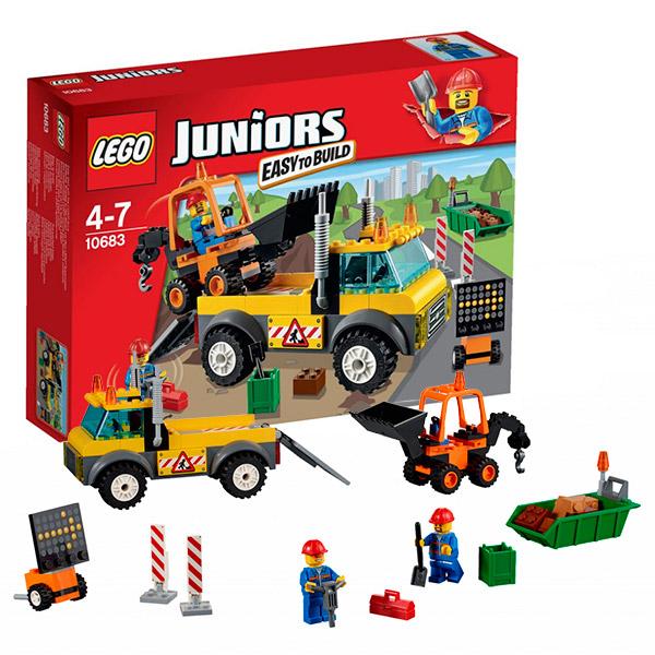 Конструктор LEGO - Джуниорс, артикул:104092