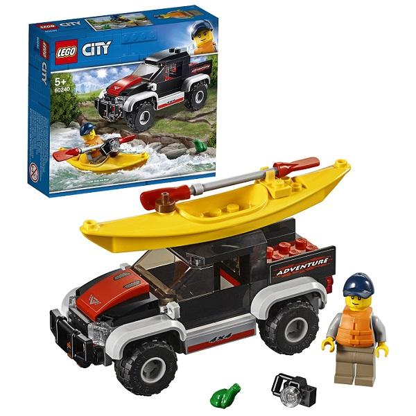Купить LEGO City 60240 Конструктор ЛЕГО Город Сплав на байдарке, Конструкторы LEGO