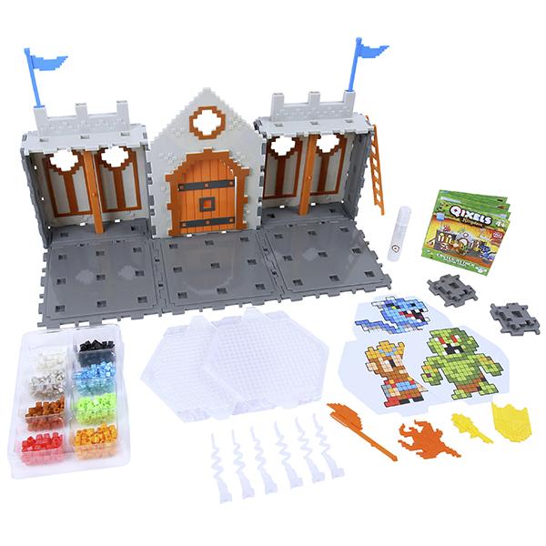 Купить Qixels 87028 Квикселс Набор для творчества Королевство Захват Замка , Набор для творчества Qixels