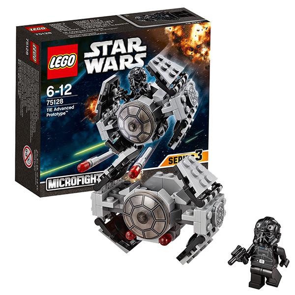 Купить Lego Star Wars 75128 Лего Звездные Войны Усовершенствованный прототип истребителя TIE, Конструктор LEGO