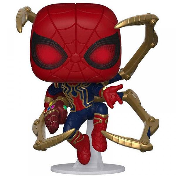 Funko 45138F Фигурка Funko POP! Bobble: Marvel: Avengers Endgame: Iron Spider w/NanoGauntlet 45138 фото