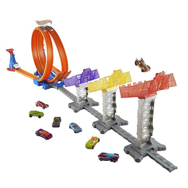 Купить Mattel Hot Wheels DJC05 Хот Вилс Суперскоростная трасса, Игровой набор Mattel Hot Wheels