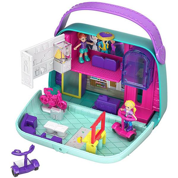 Купить Mattel Polly Pocket GCJ86 Игровой набор Мир Полли , Игровые наборы и фигурки для детей Mattel Polly Pocket
