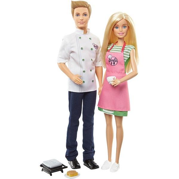 Купить Mattel Barbie FHP64 Барби и Кен-шеф повар, Куклы и пупсы Mattel Barbie