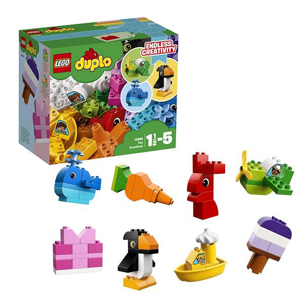 Купить LEGO DUPLO 10865 Конструктор ЛЕГО ДУПЛО Весёлые кубики, Конструкторы LEGO