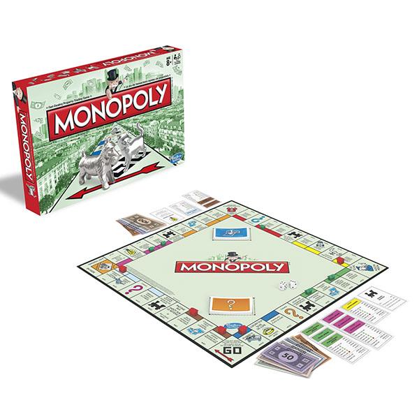 Hasbro Monopoly 00009 Игра Монополия Классическая, арт:101916 - Монополия, Настольные игры