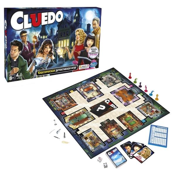 Купить Hasbro Other Games 38712 Настольная игра Клуэдо, Настольные игры Hasbro Other Games