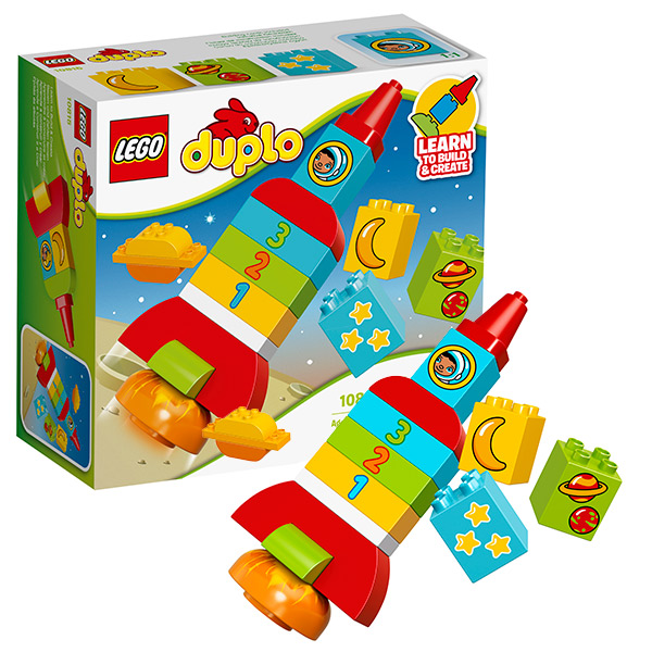 Купить Lego Duplo 10815 Лего Дупло Моя первая ракета, Конструктор LEGO