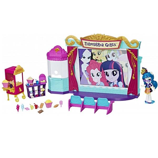 Hasbro My Little Pony C0409 Equestria Girls Игровой набор мини-кукол Кинотеатр, арт:155251 - Любимые герои, Игровые наборы
