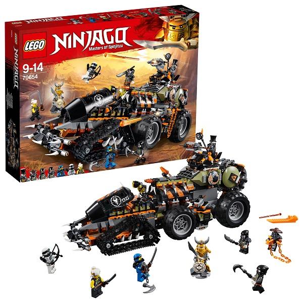 Купить LEGO Ninjago 70654 Конструктор ЛЕГО Ниндзяго Стремительный странник, Конструкторы LEGO