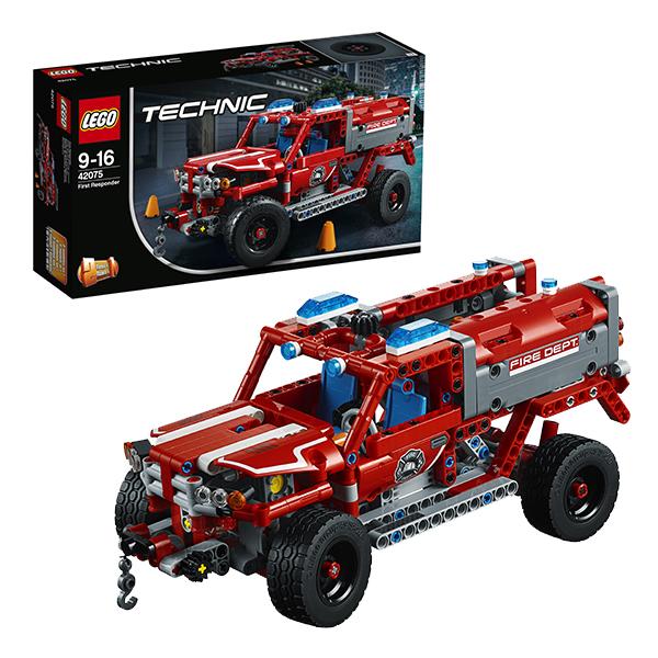 Купить LEGO Technic 42075 Конструктор ЛЕГО Техник Служба быстрого реагирования, Конструкторы LEGO