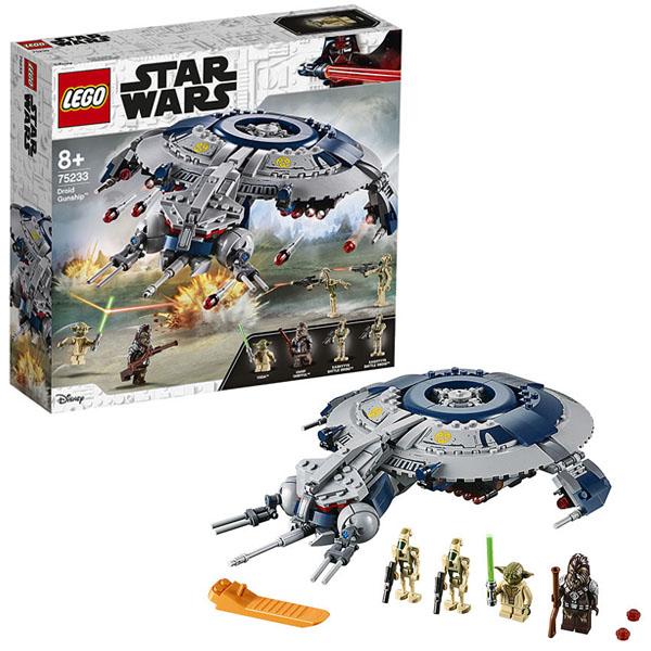 Купить Lego Star Wars 75233 Конструктор Лего Звездные Войны Дроид-истребитель, Конструктор LEGO