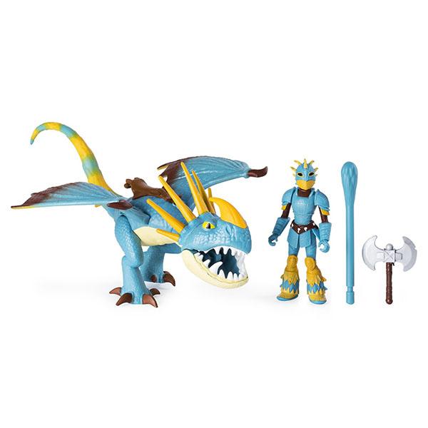 Купить Dragons 6052269 Дрэгонс Дракон и викинг (Набор 2), Игровые наборы и фигурки для детей Dragons