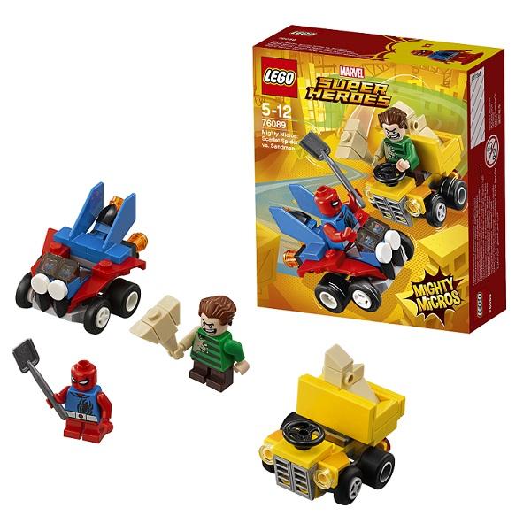 Купить Lego Super Heroes Mighty Micros 76089 Лего Супер Герои Человек-паук против Песочного человека, Конструкторы LEGO