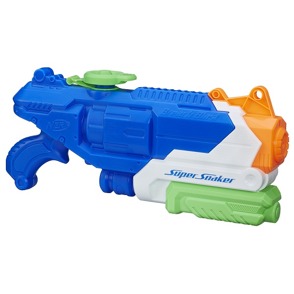 Купить Hasbro Nerf B4438 Нерф Бластер СОКЕР БричБласт, Игрушечное оружие и бластеры Hasbro Nerf
