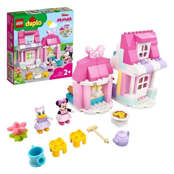 Купить LEGO DUPLO 10942 Конструктор ЛЕГО ДУПЛО Disney Дом и кафе Минни, Конструктор LEGO