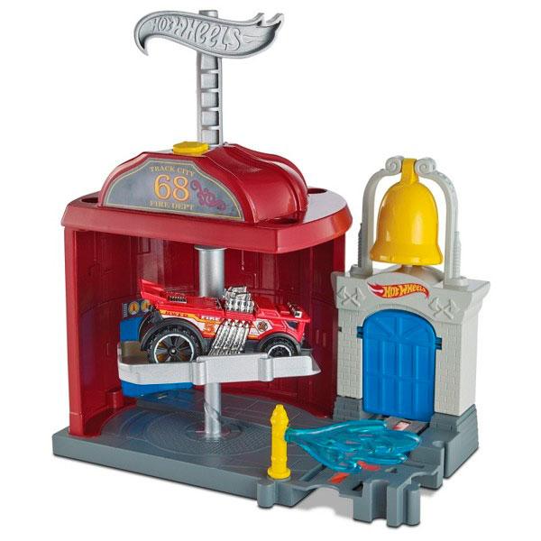 Купить Mattel Hot Wheels FRH29 Хот Вилс Сити Игровой набор, автотрек Mattel Hot Wheels