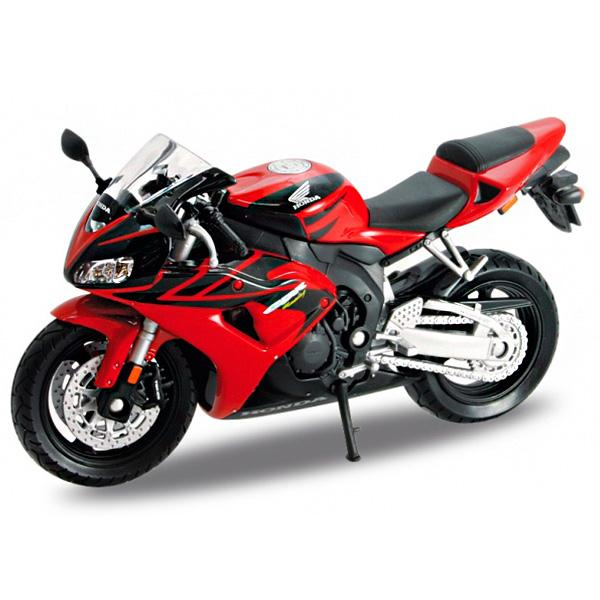 Купить Welly 12819P Велли Модель мотоцикла 1:18 HONDA CBR1000RR, Машинка Welly