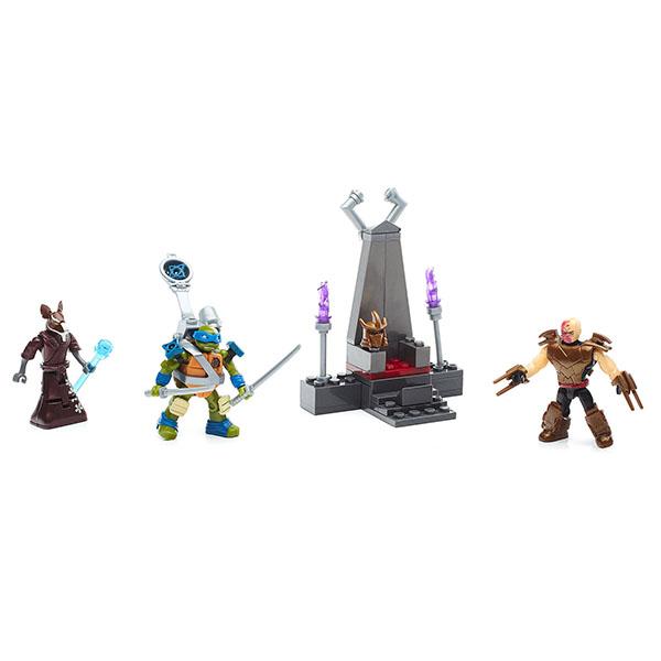Купить Mattel Mega Bloks FFC57 Мега Блокс Черепашки Ниндзя: трон Шредера, Конструкторы Mattel Mega Bloks