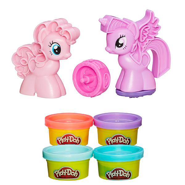 Купить Hasbro Play-Doh B0010 Игровой набор пластилина Пони: Знаки Отличия , Пластилин Hasbro Play-Doh