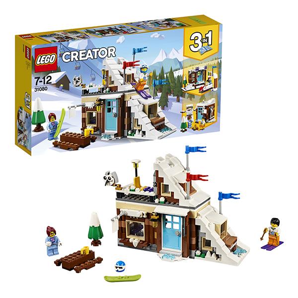 Lego Creator 31080 Конструктор Лего Криэйтор Зимние каникулы (модульная сборка), арт:152439 - Криэйтор, Конструкторы LEGO