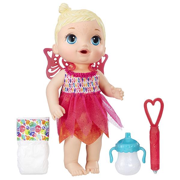 Купить Hasbro Baby Alive B9723 Малышка-фея, Кукла Hasbro Baby Alive